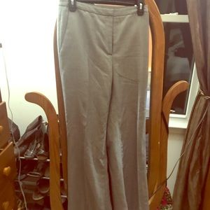 Ann Taylor blank/white slacks